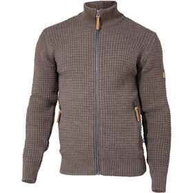Ivanhoe of Sweden Moritz Full Zip Jacket Men, marrón